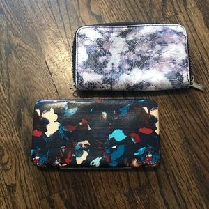 Handbags - Set of two like new super cute wallets⭐️